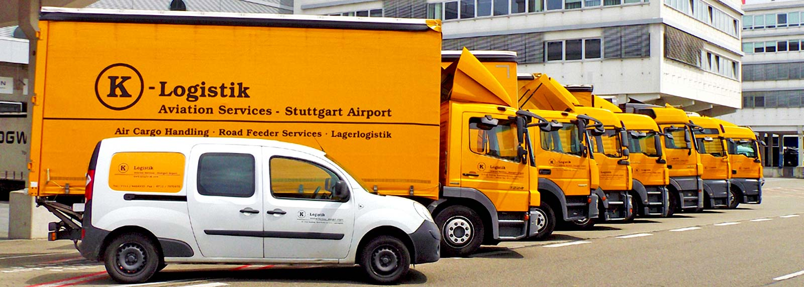 K-Logistik - Air Cargo Handling u. Road Feeder Service