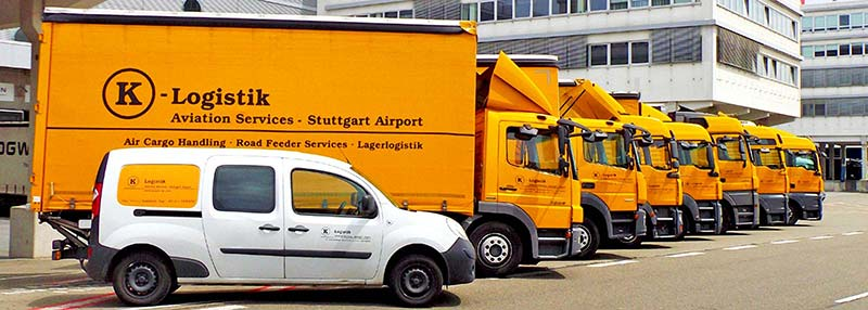 K-Logistik - Trucking und Road Feeder Services